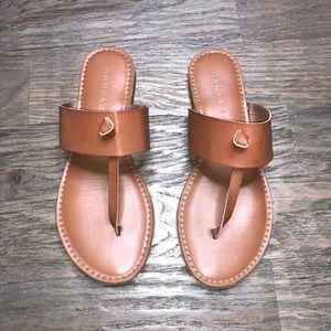 Rampage Maxxi Cognac Thong Sandal 8M